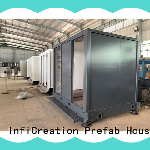 InfiCreation tiny prefab container house directly sale for carport