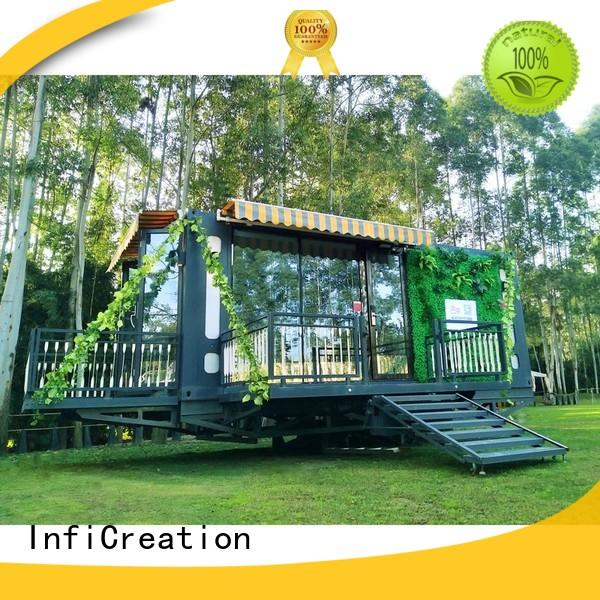 tiny pre built container homes supplier for accommodation