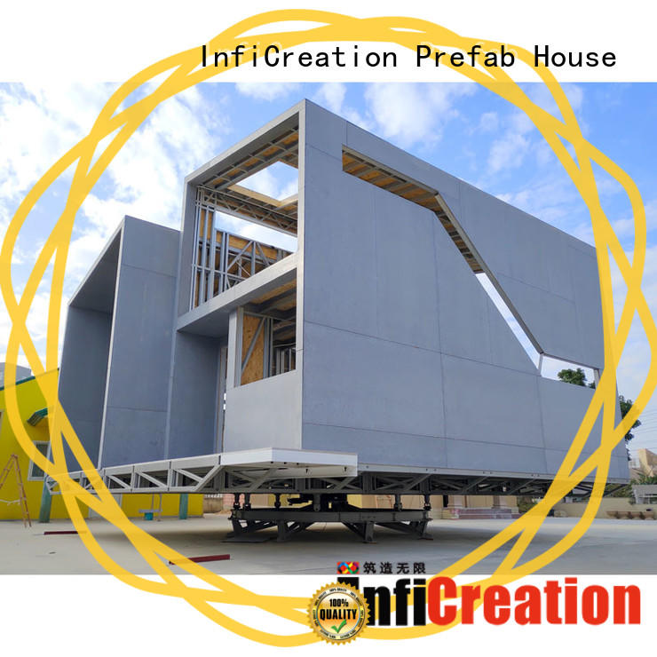 comfortable prefabricated cottages designer for accommodation