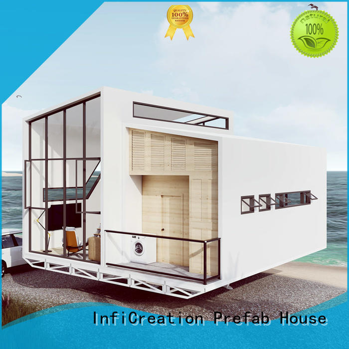 Prefab Beach House Villa Mobile Light Steel Structure Prefab House