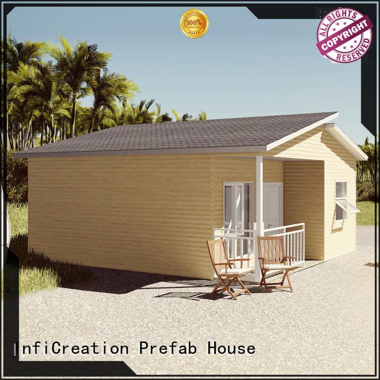 portable pre built houses manufacturer for hotel