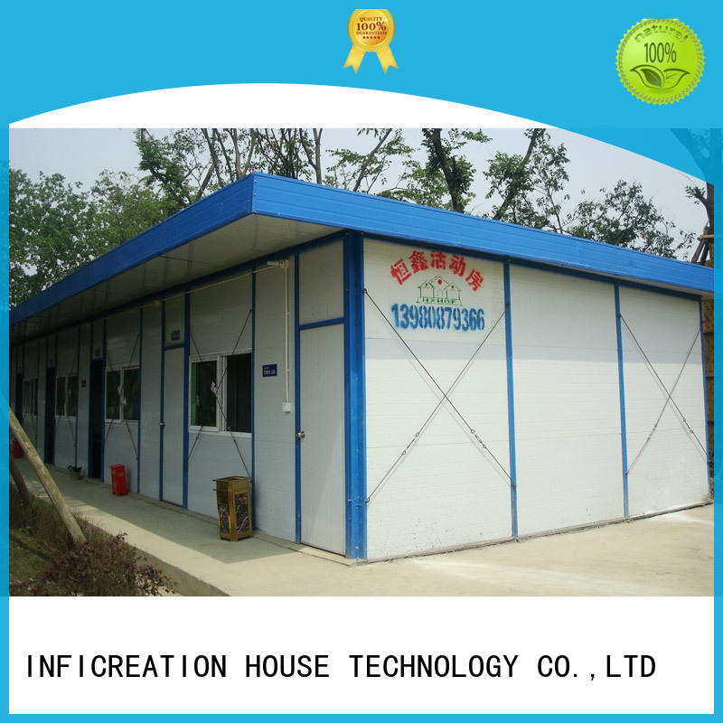 InfiCreation construction site camp supplier for accommodation
