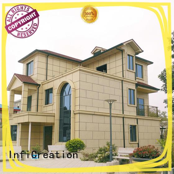 economical modular villas custom for hotel