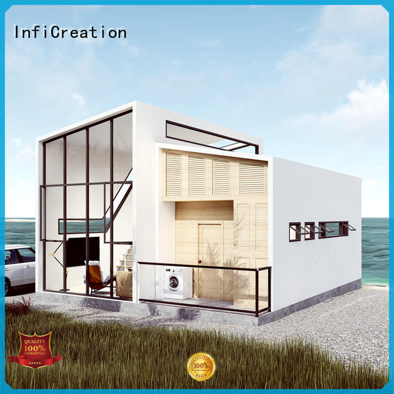 mobile prefabricated villa custom for resorts