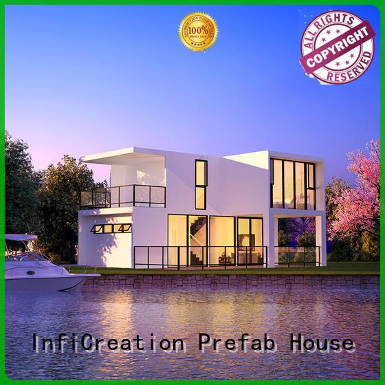 mobile luxury modular homes designer for accommodation InfiCreation