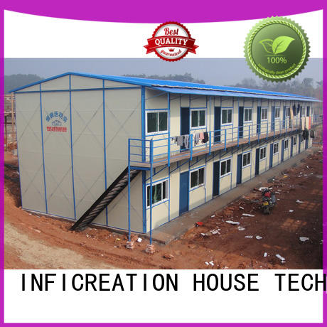 InfiCreation construction site accommodation supplier for shop