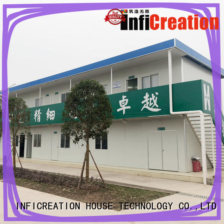 low cost prefab container house directly sale for accommodation