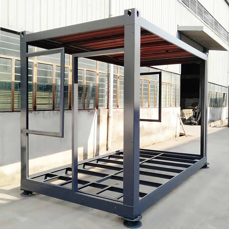 InfiCreation durable prefabricated container homes factory price for booth-1