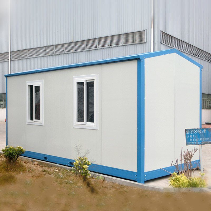 low cost prefab container house customized for accommodation-2