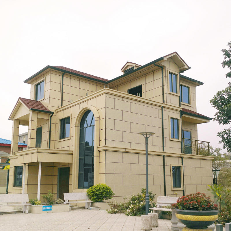 Prefabricated Galvanized Light Steel Modern Villa Prefab House