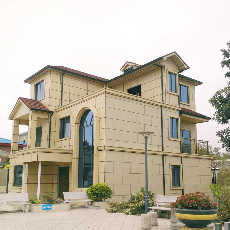 Prefabricated Galvanized Light Steel Modern Villa Prefab House