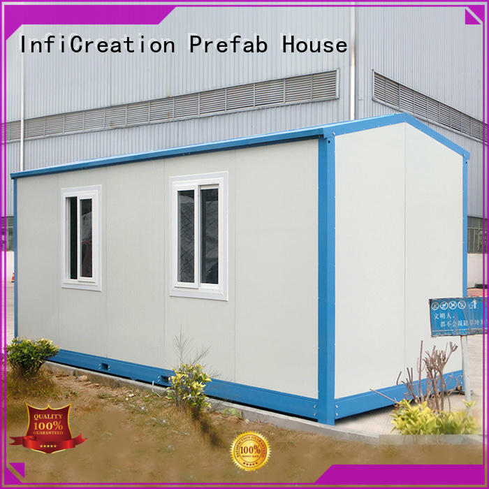 InfiCreation recyclable custom container homes factory price for booth