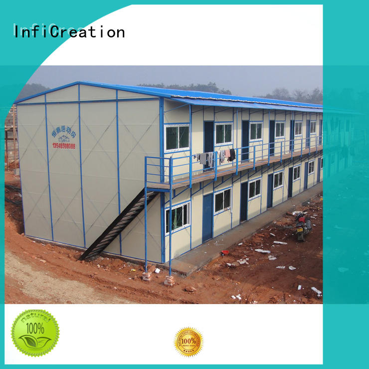 InfiCreation construction site camp wholesale for shop
