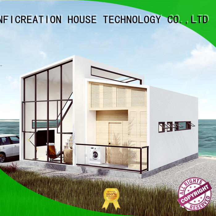InfiCreation pre manufactured cottages designer for hotel