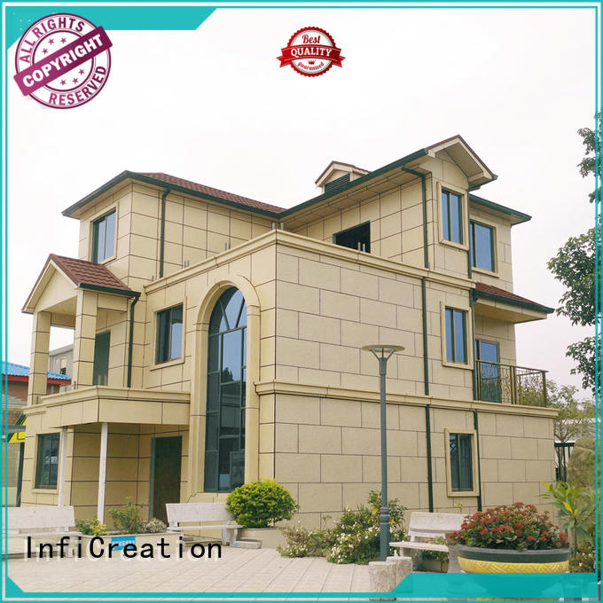 beautiful prefabricated villa factory price for hotel