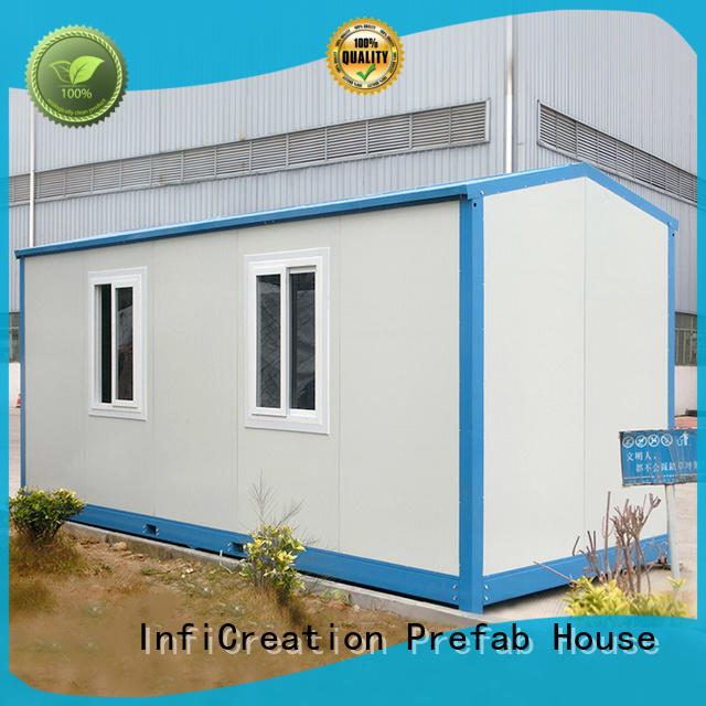 tiny cargo container house customized for accommodation