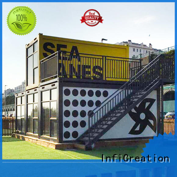 InfiCreation prefab storage container homes directly sale for accommodation