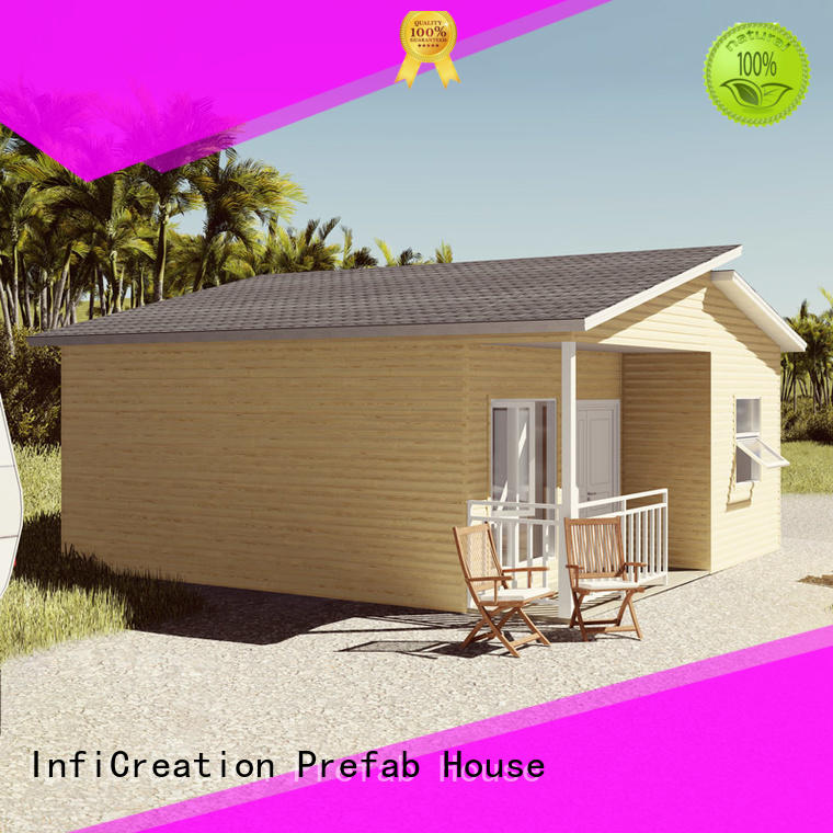 InfiCreation economical prefabricated luxury villas designer for accommodation