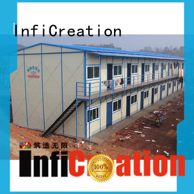 light steel structure mining camp construction C channel for office InfiCreation