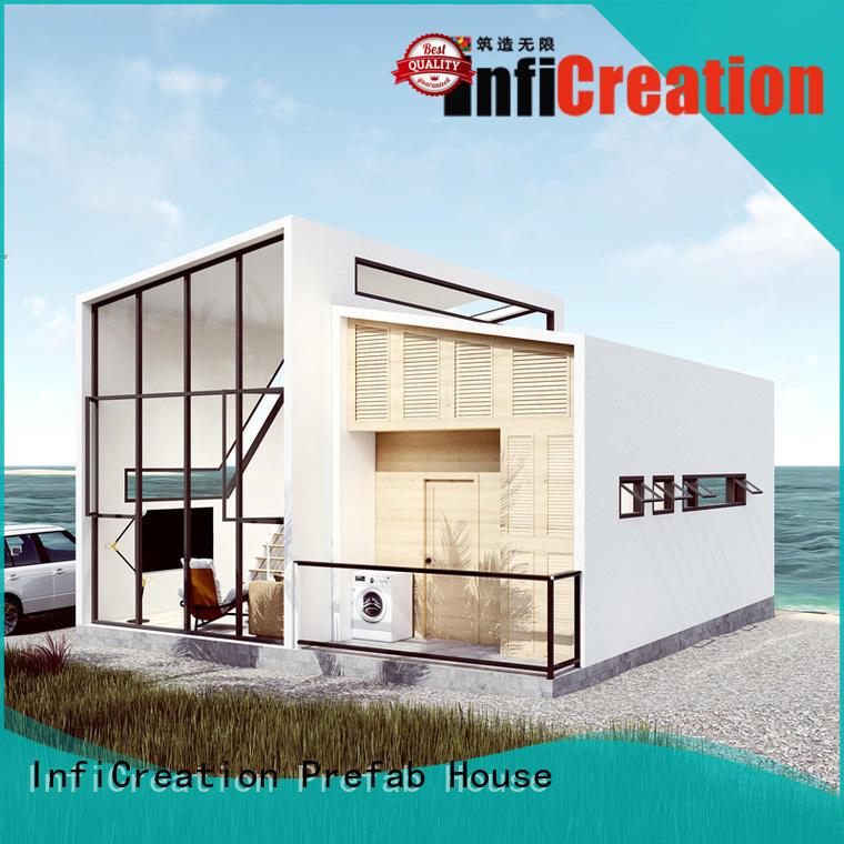 steel modular beach cottages custom for resorts