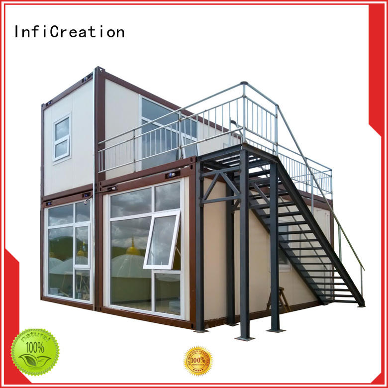 InfiCreation premade container homes factory for accommodation