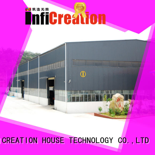 InfiCreation low cost prefab warehouse building design for cargo