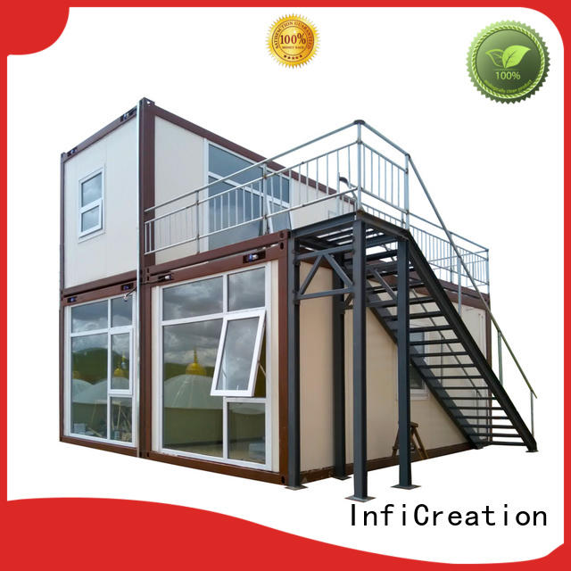 recyclable prefab container homes customized for carport