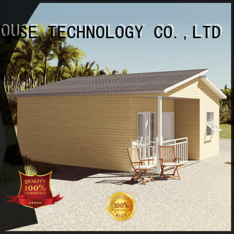 mobile pre fabricated cottages manufacturer for accommodation