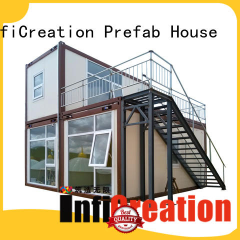 InfiCreation recyclable modular container homes factory for toilet