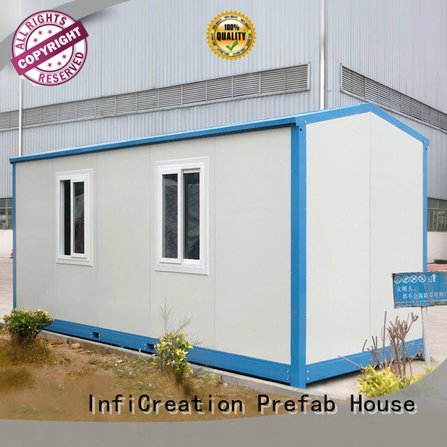 InfiCreation low cost storage container homes customized for office