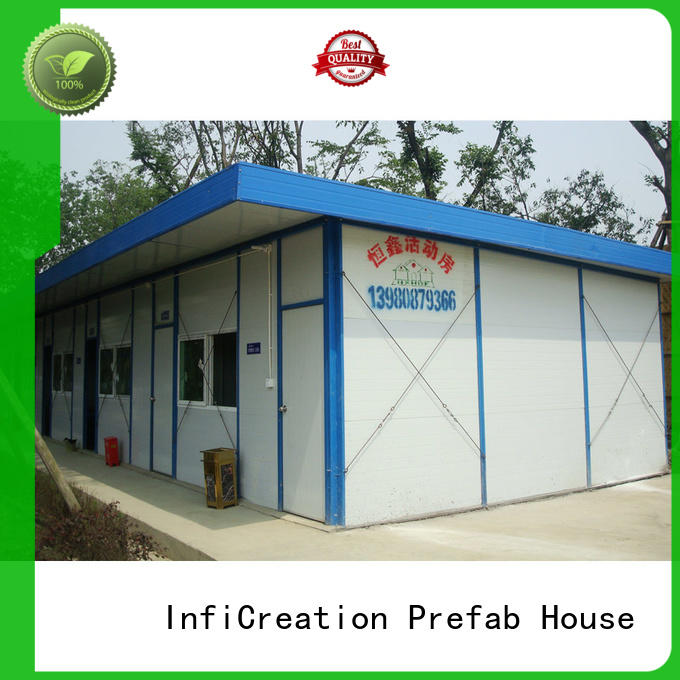 InfiCreation portable temporary site accommodation supplier for shop