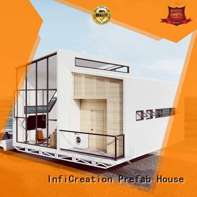InfiCreation comfortable luxury prefabricated homes manufacturer for entertainment centers