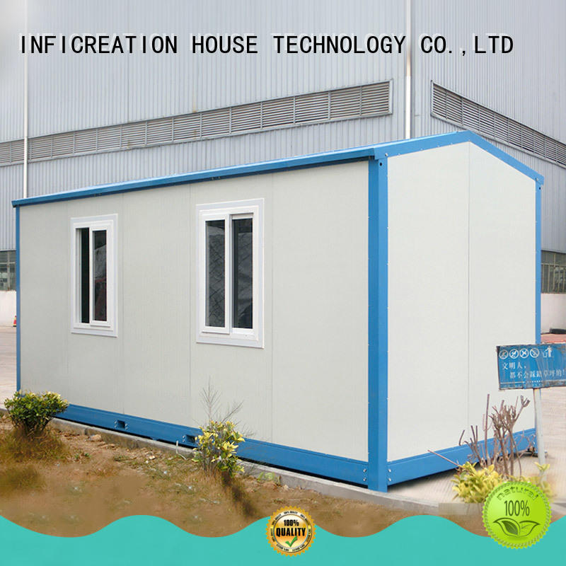 recyclable prefabricated container homes factory for toilet