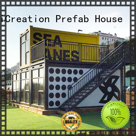 InfiCreation recyclable storage container homes customized for carport