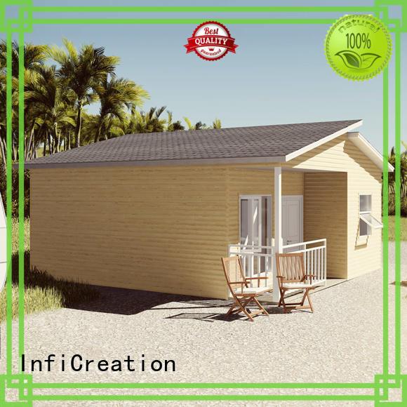 InfiCreation comfortable modular villas manufacturer for hotel