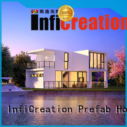 portable modular beach cottages factory price for entertainment centers