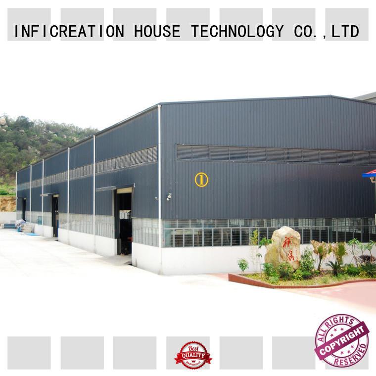 Construction Design Medium-Sized Steel Structure Prefabricated Warehouse