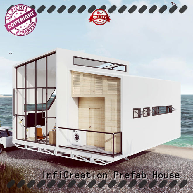 InfiCreation comfortable pre manufactured houses factory price for hotel