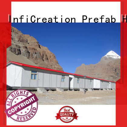 InfiCreation competitive price construction site camp custom for shop