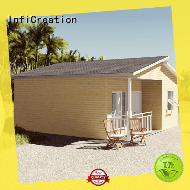 InfiCreation pre fabricated cottages manufacturer for resorts