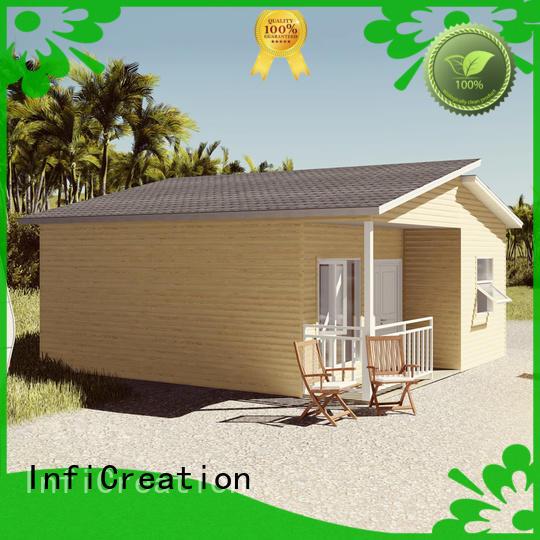 economical prefab modular homes designer for resorts