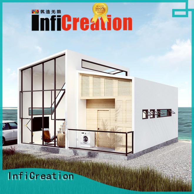 China Cheap Beach Steel Villa Casas Prefabricated Houses