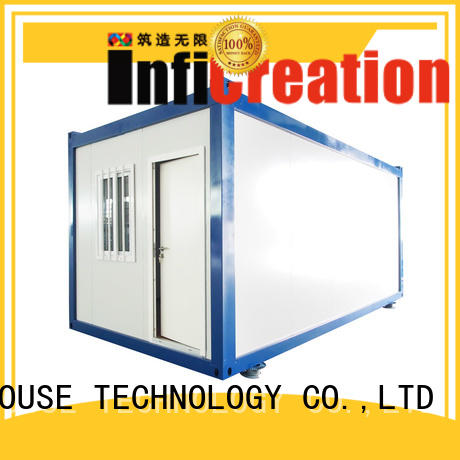 InfiCreation low cost prefab storage container homes manufacturer for carport
