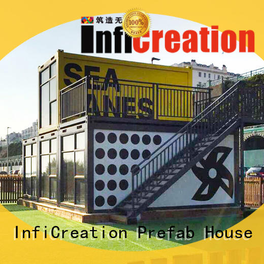 freight container homes loose part for booth InfiCreation