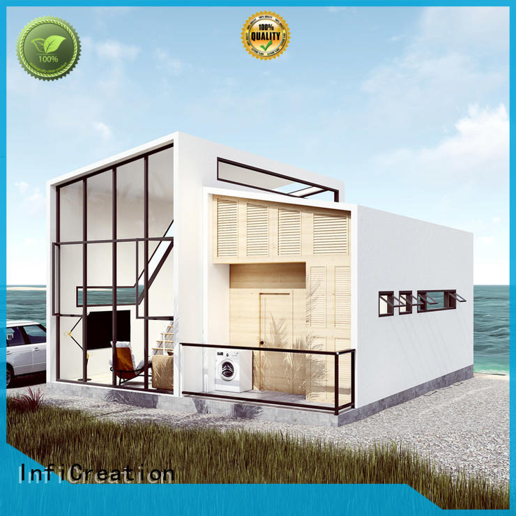 InfiCreation steel pre built houses manufacturer for accommodation