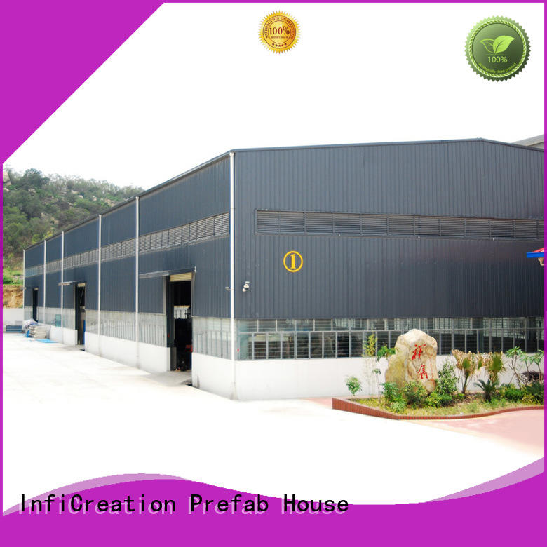 InfiCreation environmental friendly modular warehouse customized for factory