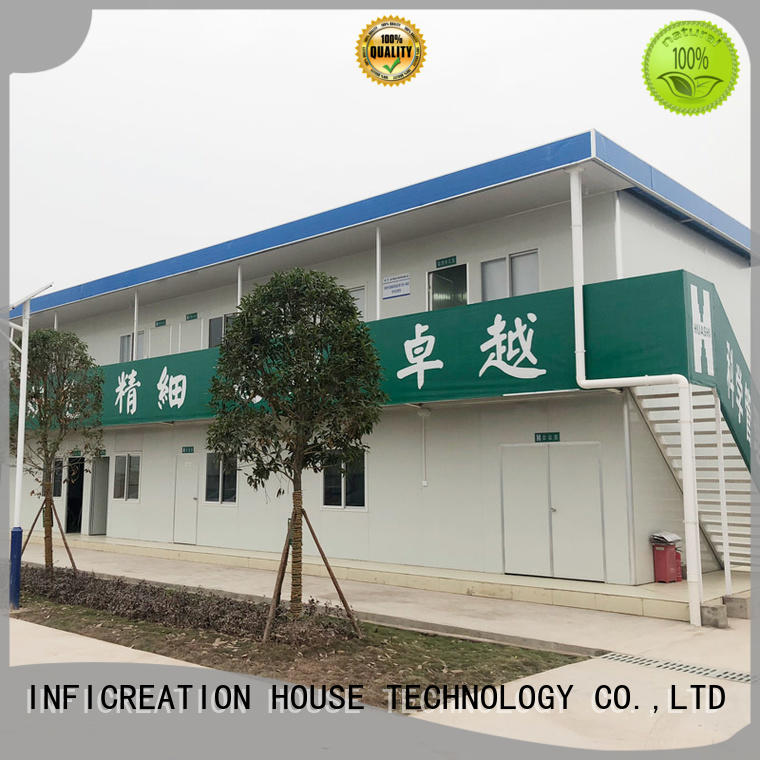 InfiCreation long lasting cargo container homes customized for accommodation
