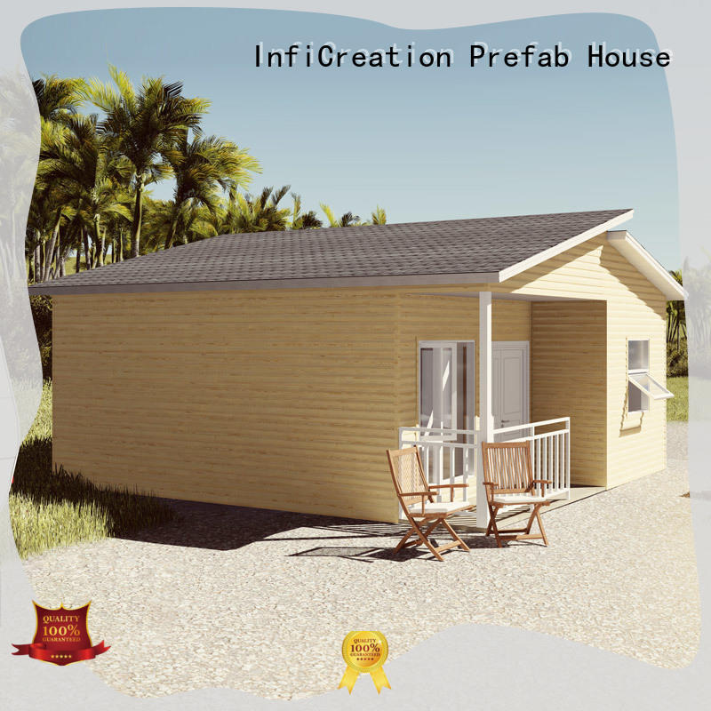 InfiCreation pre manufactured houses custom for accommodation