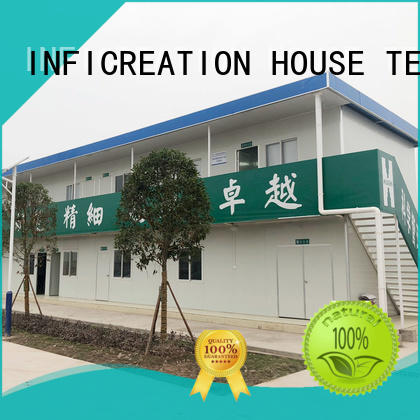 InfiCreation recyclable prefabricated container homes directly sale for accommodation