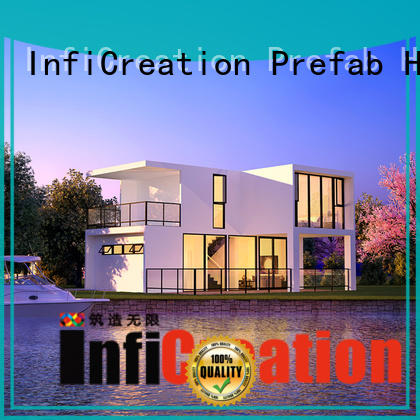 InfiCreation prefab villa custom for entertainment centers